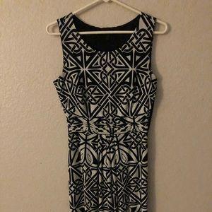 EN FOCUS Studio, Size 6, B/W dress